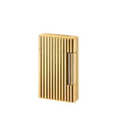 BRIQUET INITIAL LIGNE BRONZE OR