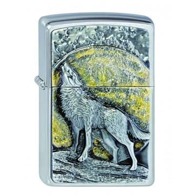 2003038 Briquet #200 WOLF MOONLIGHT