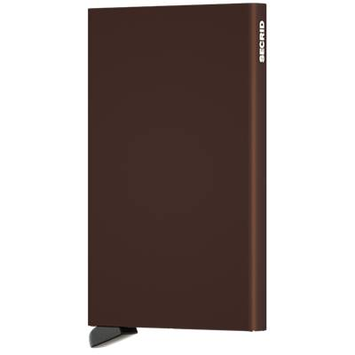 CPABRC CARD PROTECTOR ALUMINIUM BROWN