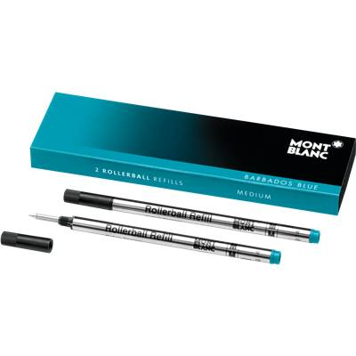 106932 Recharges Rollerball Turquoise X2